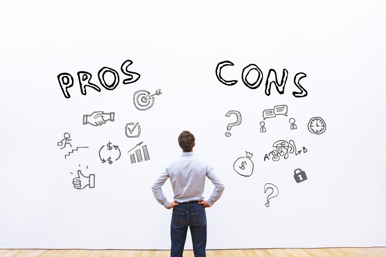 Pros and cons of managing IP portfolio internally